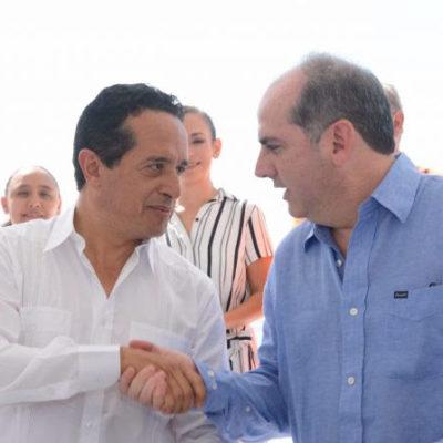 Firman Gobernador y Conagua convenio de colaboración ante nuevo escenario de crecimiento demográfico