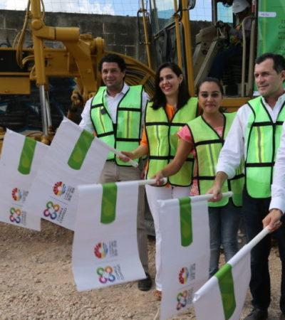Inicia ampliación de la Avenida Tepich en Cancún; invierte comuna 1.5 mdp