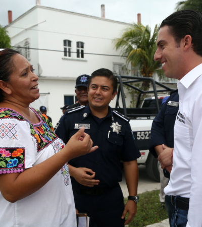 Dice Alcalde Remberto Estrada que prevención del delito y próximidad social serán prioridad de gobierno