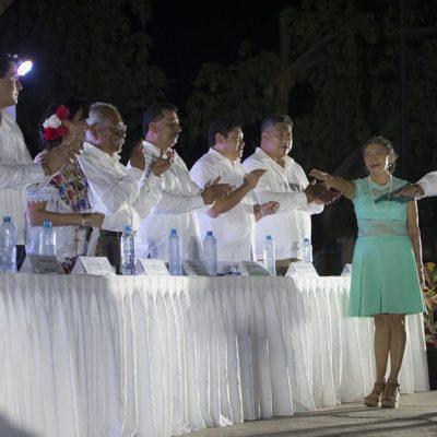 En sesión pública de Cabildo, Laura Fernández toma protesta al nuevo delegado de Leona Vicario