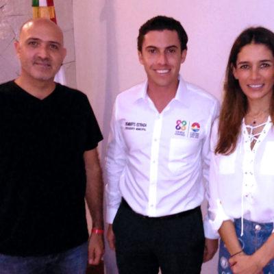 Se reúne Remberto Estrada en Cancún con diputados federales; le consiguieron más de 530 mdp en recursos