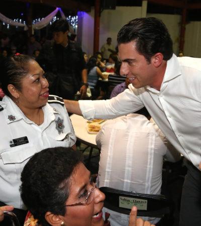 En el Día del Policía, reconoce Remberto labor de elementos de los cuerpos de seguridad municipal