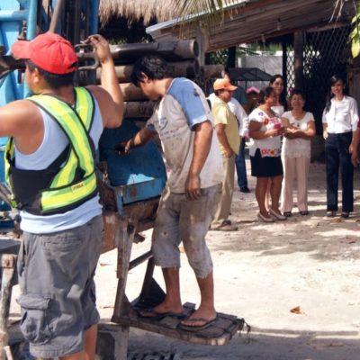 Supervisa Alcaldesa obras de infraestructura urbana en Puerto Morelos