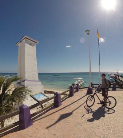 Con el emblemático faro inclinado, la Lotería Nacional festejará el primer aniversario de Puerto Morelos