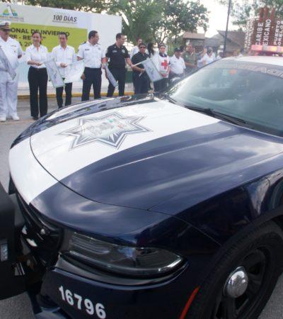 Refuerzan seguridad para turistas en Puerto Morelos hasta el 6 de enero