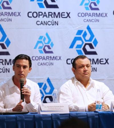 SE REÚNE REMBERTO CON LA COPARMEX: Ofrece Alcalde a cúpula empresarial 'diálogo permanente y trabajo conjunto'; IP celebra apertura, pero…
