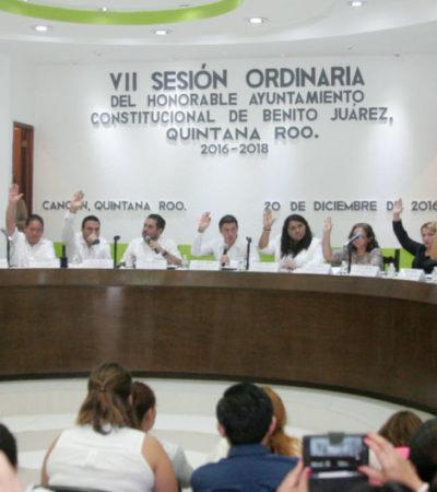 Ante el Cabildo de BJ, rinde protesta Antonia Muñoz Torres como nueva delegada de Bonfil