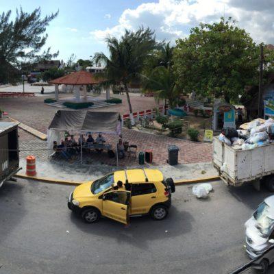 Dice Laura Fernández que su prioridad será tener un Puerto Morelos limpio y sustentable