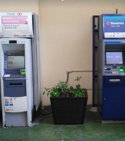 Por operar con irregularidades, clausuran más de 200 cajeros automáticos y al menos 8 bancos