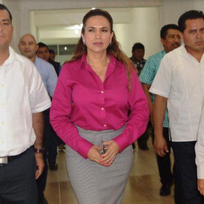Encargada de despacho de la Fiscalía se reúne con mandos de la Zona Norte de QR