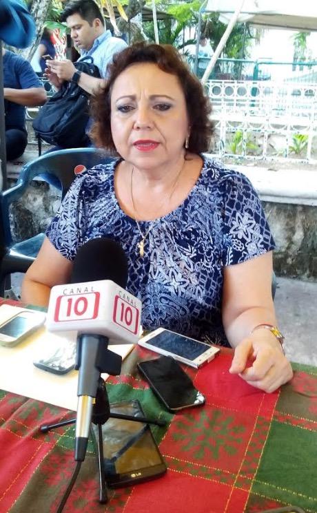 Alicia Ricalde, titular de la Apiqroo.
