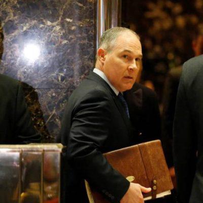 Un negacionista del cambio climático será el responsable de la política medioambiental de Trump