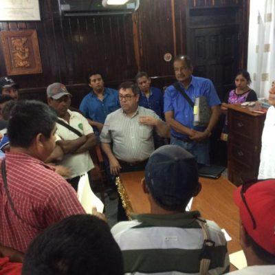 TOMAN EJIDATARIOS EL PALACIO DE JMM: Tensa negociación durante 10 horas en reclamo de pagos por siniestros