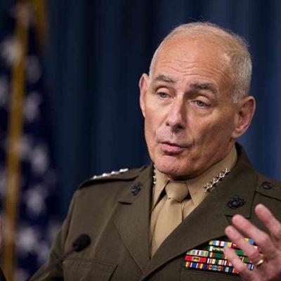 Formaliza Trump designación del general retirado John Kelly para encabezar el Departamento de Seguridad Nacional