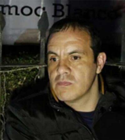 Inicia Alcalde Cuauhtémoc Blanco una huelga de hambre en protesta por juicio político