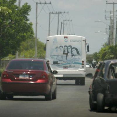Aumenta aforo vehicular en Chetumal