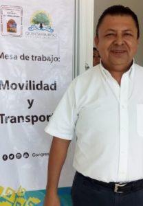 Alejandro Ramos, director de Transporte.