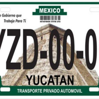 Establecen tarifas para el pago por el reemplacamiento en Yucatán