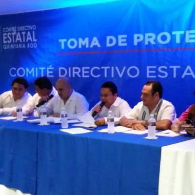 CONSUMAN RELEVO EN EL PAN: Juan Carlos Pallares Bueno rinde protesta para el periodo 2016-2019