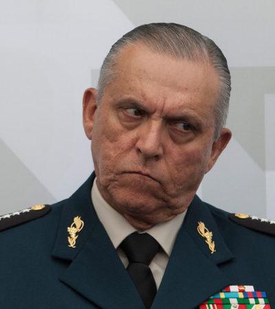 Dice Secretario de Defensa que soldados no estudian para perseguir delincuentes
