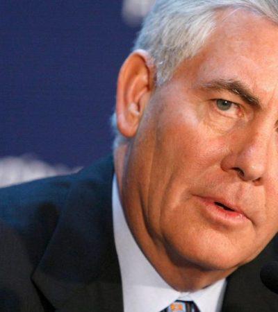 Perfilan a alto ejecutivo de la petrolera Exxon Mobil como secretario de Estado de Trump