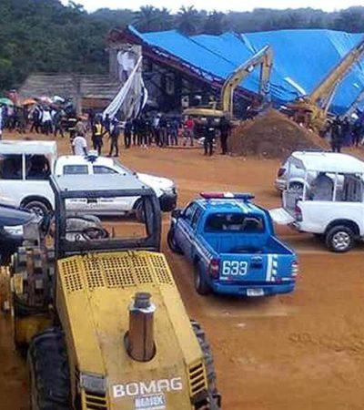 TRAGEDIA DE CRISTIANOS EN NIGERIA: Suman al menos 160 muertos al derrumbarse el techo de una iglesia