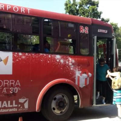 Ante el alza de la gasolina, buscará Autocar nuevo aumento a la tarifa del transporte público en Cancún