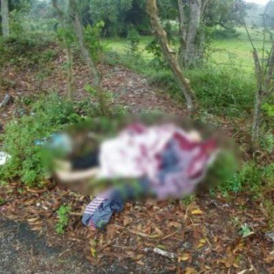 FEMINICIDIO EN TABASCO: Hallan a mujer encobijada, también en Cárdenas