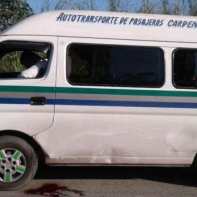 VIOLENCIA EN TABASCO: Abordan sicarios una combi y matan a chofer frente a pasajeros en Cárdenas