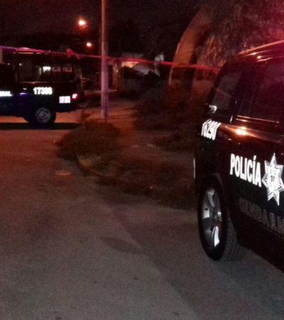 REPORTAN FEMINICIDIO EN CANCÚN: Matan a una mujer en un domicilio de la SM 58, a unos metros de la Avenida López Portillo