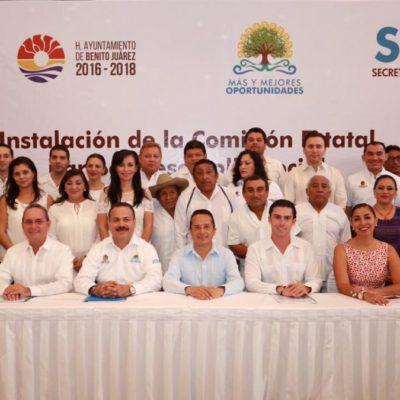INSTALAN COMISIÓN DE DESARROLLO SOCIAL: Plantea Gobernador estrategia para cerrar la brecha de las desigualdades en QR