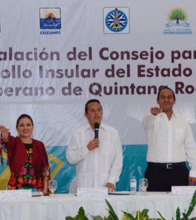 DARÁN FUERZA A LAS ISLAS DE QR: Instalan Consejo para el Desarrollo Insular con Cozumel, Isla Mujeres y Holbox