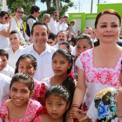 VA GOBERNADOR A LA ZONA MAYA: Inaugura Casa del Niño Indígena, ampliación de red eléctrica y entrega certificados de turismo de la naturaleza
