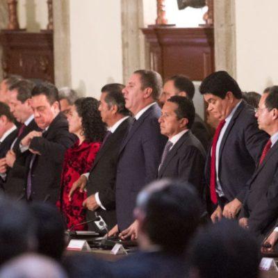 Participa Carlos Joaquín en sesión del Consejo Nacional de Seguridad Pública