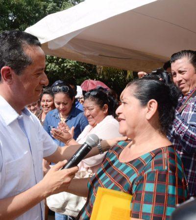 Da Gobernador banderazo a construcción de domos deportivos y la electrificación de las regiones 236 y 530 en Cancún