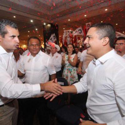 NO CUAJA 'RAY': Urge Machuca a la renovación del PRI en Quintana Roo