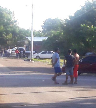 AMANECE CANCÚN CON UN DECAPITADO: Con narcomensaje, hallan cadáver de un hombre en una bolsa negra en la Región 219
