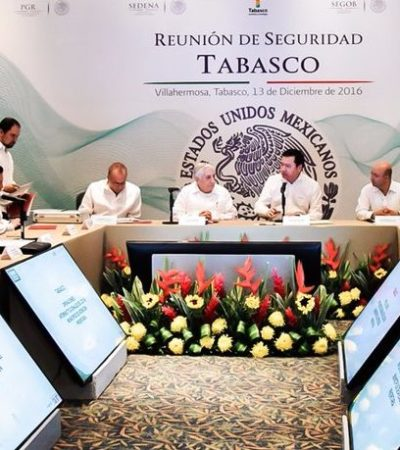 TABASQUEÑOS YA PUEDEN 'DORMIR TRANQUILOS': Ante ola de violencia e inseguridad, anuncia Osorio Chong despliegue de la Gendarmería