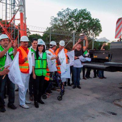 En sus primeros 90 días, destaca Alcaldesa de Puerto Morelos primeros logros y obras