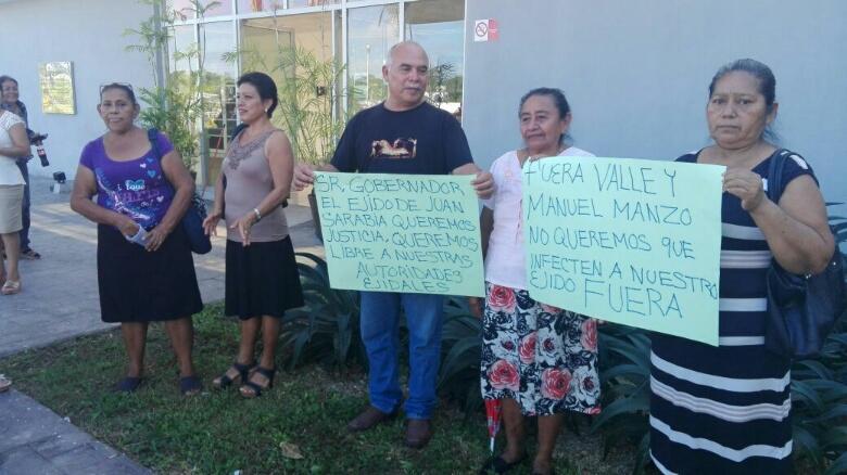 PROTESTA DE EJIDATARIOS DE JUAN SARABIA: Demandan liberación de líder y piden investigar despojos de terrenos en Bacalar