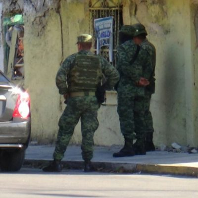 Cateo y decomiso de droga en pleno centro de Chetumal; no hay detenidos