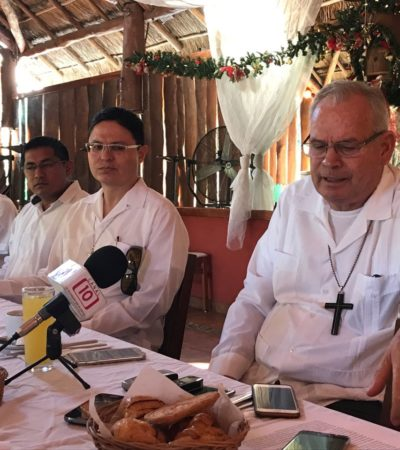 Urgen medidas serias para tener seguridad, dice Obispo