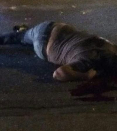 TIROTEO FRENTE A PLAZA GALERÍAS EN CANCÚN: Un muerto y 2 heridos en la Avenida Tulum en la víspera de Navidad
