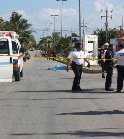 Muere una joven motociclista al ser impactada por una camioneta en Playa del Carmen