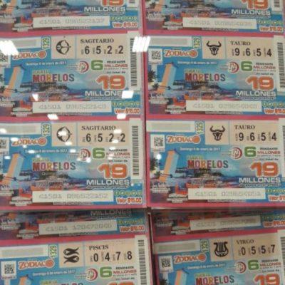 Ya están a la venta los billetes del sorteo de Lotería Nacional que se realizará en Puerto Morelos