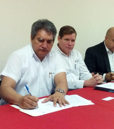 Firman universidades convenio para servicio social