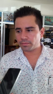 Ricardo Muleiro, presidente de Asociados Náuticos de Cancún.