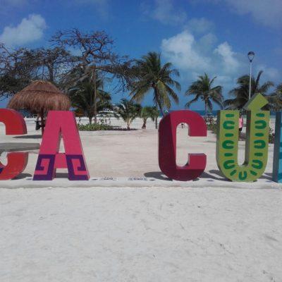 NO SE SALVA 'CANCÚN' DE LA INSEGURIDAD: Vandalizan la palabra ícono del principal destino turístico de México