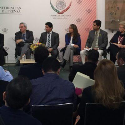 Reunión de legisladores previo al arranque de la COP 13 en Cancún