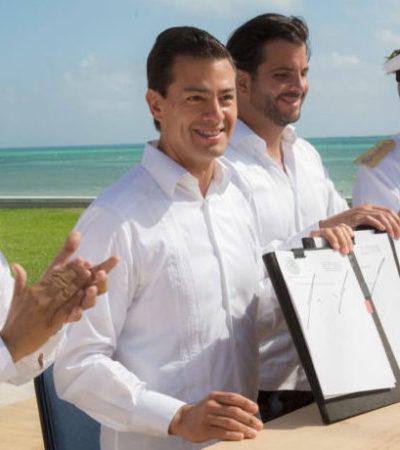 DECRETAN 4 NUEVAS ÁREAS NATURALES PROTEGIDAS: Al inaugurar la COP 13 en Cancún, EPN también anuncia otras 5 Zonas de Salvaguarda